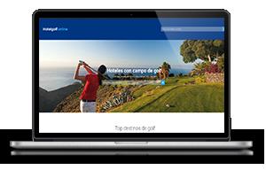 hoteles con campo de golf en espana